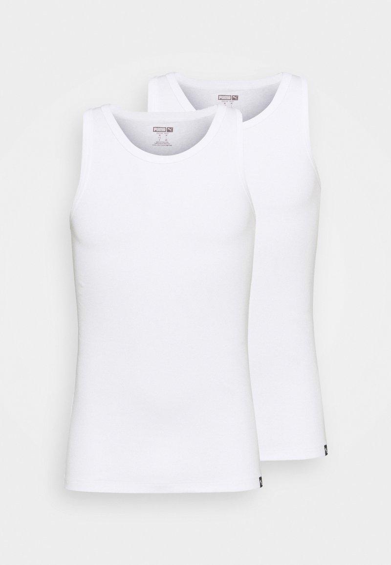 Puma - BASIC 2 PACK - Undershirt - white