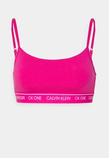 ONE UNLINED BRALETTE - Bustino - party pink