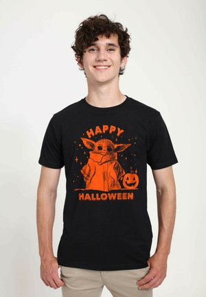 STAR WARS UNISEX HAPPY HALLOWEEN - T-shirt print - black