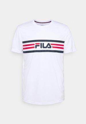 NICLAS - Camiseta estampada - white