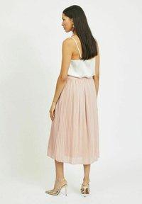 Vila - A-line skirt - pale mauve - 2