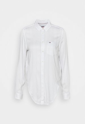 FRONT KNOT - Blouse - white
