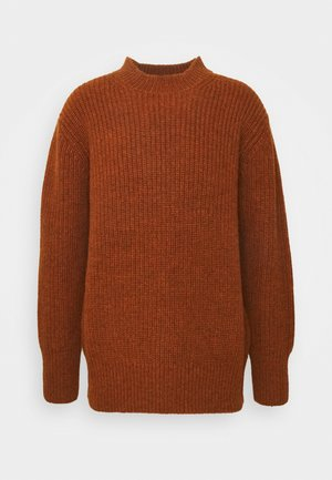 KINGSDOWN CREW NECK - Trui - rust