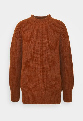 KINGSDOWN CREW NECK - Pullover - rust