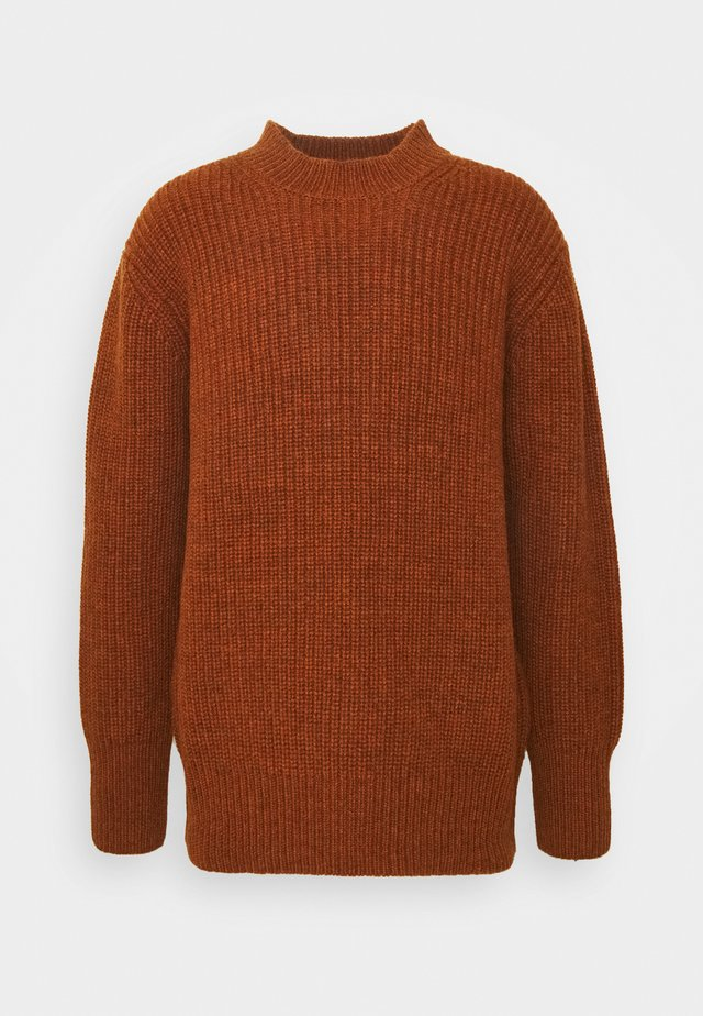 KINGSDOWN CREW NECK - Maglione - rust