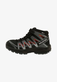 Salomon - XA PRO 3D MID  - Hiking shoes - black/stormy weather/cherry tomato - 1