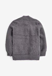 Next - FLUFFY LONG - Cardigan - grey - 1