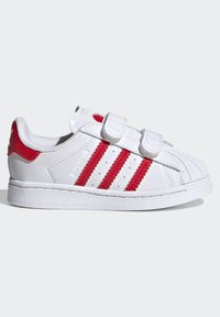 adidas Originals - SUPERSTAR SHOES - Sneakers laag - ftwr white/vivid red - 6