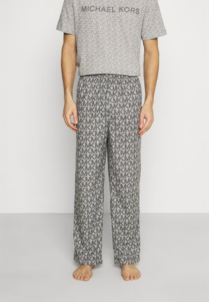 ROLLED PANT - Pyjama bottoms - grey