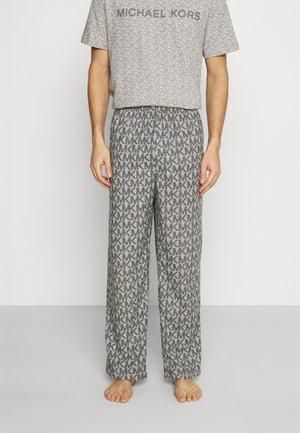ROLLED PANT - Pyžamový spodní díl - grey