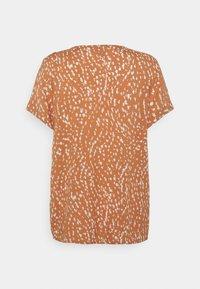 ICHI - VERA - Print T-shirt - sunburn - 1