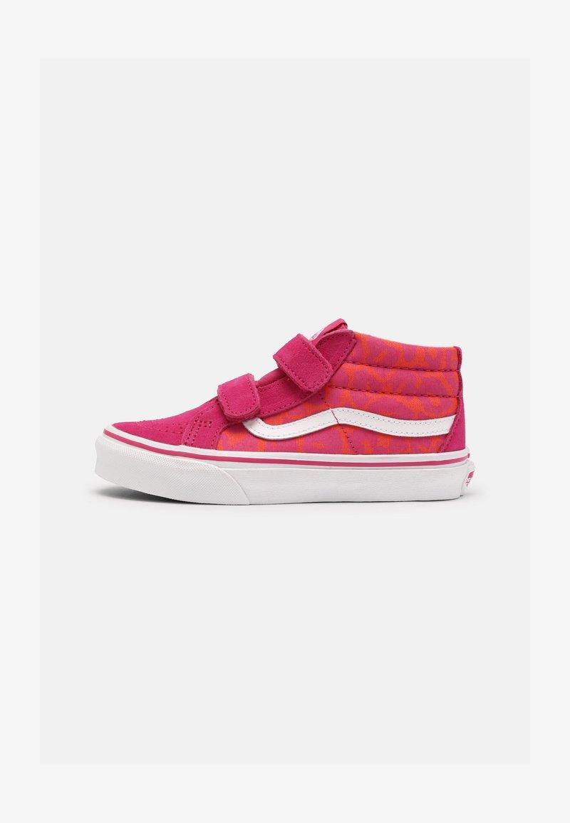 Vans - SK8-MID REISSUE V - Vysoké tenisky - neon animal leopard/pink