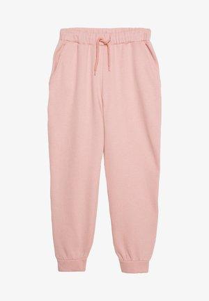 DRAWSTRING - Pantalones deportivos - pink