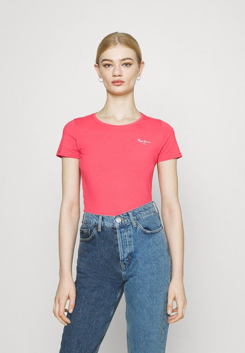 Pepe Jeans - BELLROSE - Basic T-shirt - dark chicle