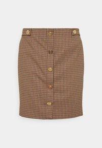 LIU JO - ABITO ALL IN ONE 2-IN-1 - Button-down blouse - natural/fuxia - 2