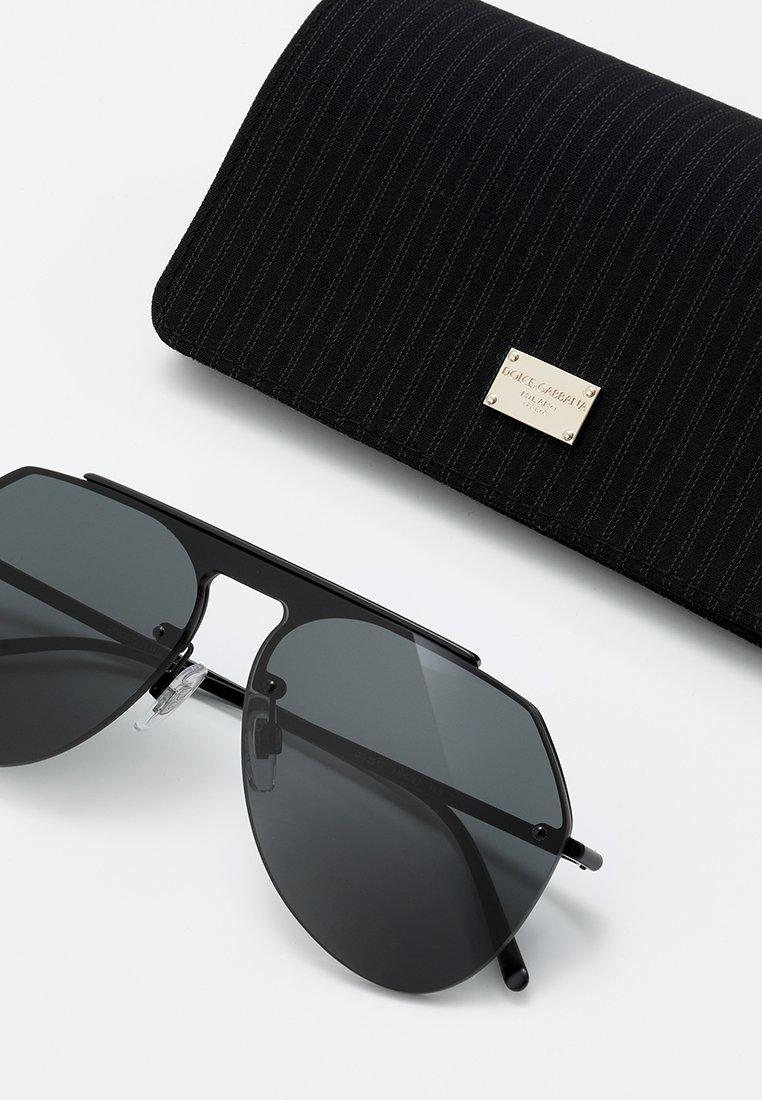 DolceGabbana Sonnenbrille - matte black/grey/schwarz - Herrenaccessoires OWdOk