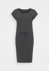 Vero Moda Tall - VMAPRIL SHORT DRESS 2 PACK - Jersey dress - black/ snow white - 1