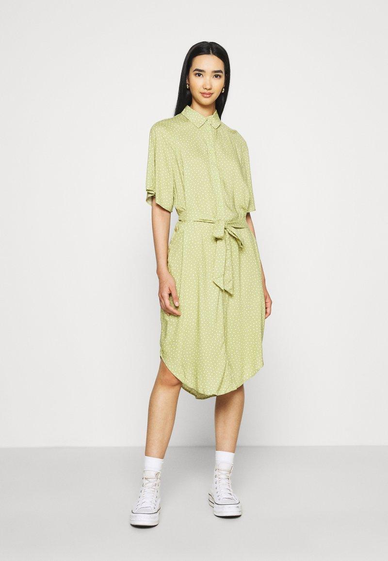 Monki - Shirt dress - green