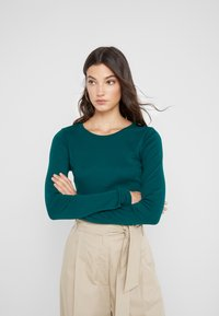 J.CREW - SLIM PERFECT  - Long sleeved top - academic green - 0