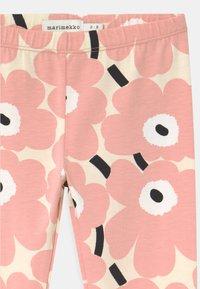 Marimekko - LAIRI MINI UNIKOT - Leggings - Trousers - beige/rose/black - 2
