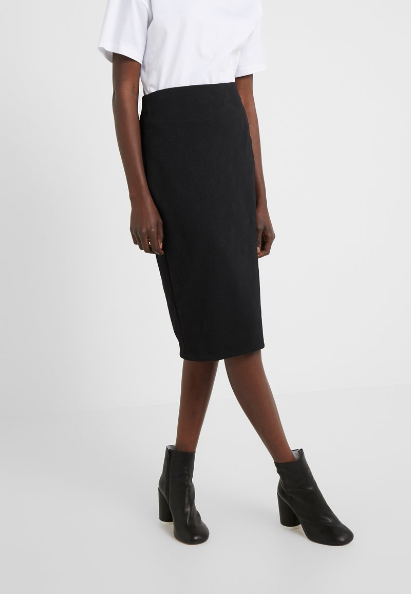 HUGO - NASELLI - Pencil skirt - black