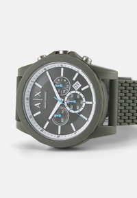 Armani Exchange - OUTERBANKS - Chronograph watch - green - 5