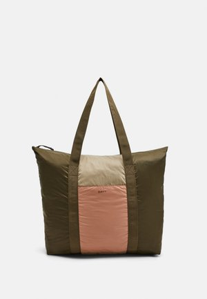 BLOCK - Tote bag - ivy green
