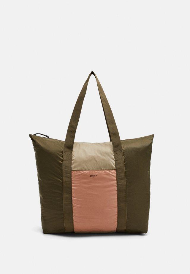 BLOCK - Shopping bag - ivy green