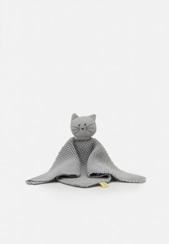 BABY COMFORTER LITTLE CHUMS CAT - Soother - grey