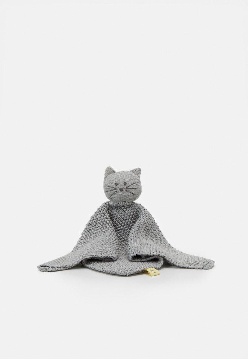 Lässig - BABY COMFORTER LITTLE CHUMS CAT - Mazlící dečka - grey