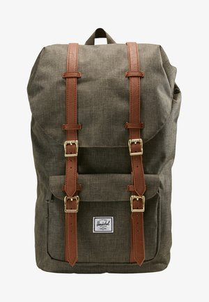 LITTLE AMERICA  - Plecak - canteen crosshatch/tan