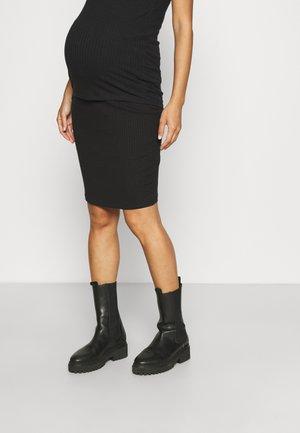 MLSOLANA SKIRT - Spódnica ołówkowa  - black