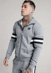 SIKSILK - LUXE ZIP THROUGH FUNNEL NECK - Sudadera con cremallera - grey - 0