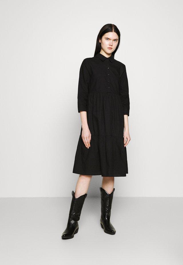 JDYULLE DRESS  - Košilové šaty - black