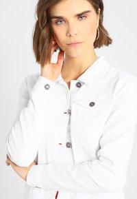 Noisy May - NMDEBRA - Denim jacket - bright white - 4