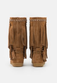 Colors of California - MEDIUM BOOT WITH FRINGES - Cowboy-/Bikerlaarzen - tan - 3