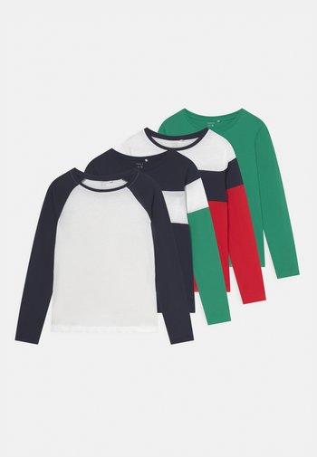 NKMNEO 5 PACK - Maglietta a manica lunga - dark sapphire