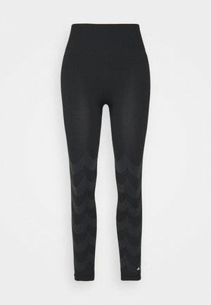 MARIMEKKO - Leggings - carbon/black
