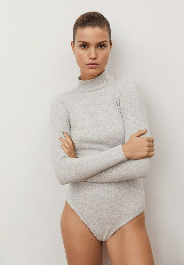 CUTOFF - Long sleeved top - light heather grey
