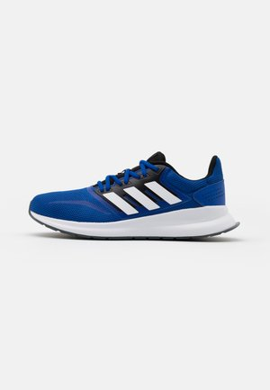 RUNFALCON CLASSIC SPORTS RUNNING SHOES - Neutral running shoes - royal blue/footwear white/core black