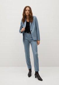 Mango - BOREAL - Trousers - bleu ciel - 1