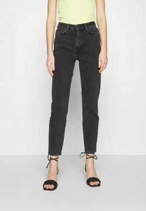 JDYKAJA LIFE - Straight leg jeans - black denim