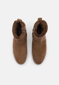 MAHONY - BERN - Platform ankle boots - cognac - 5