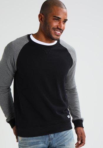 Felpa - grey melange/black