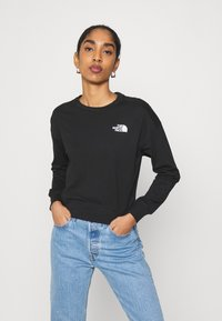 The North Face - ENSEI TEE  - Long sleeved top - black - 0