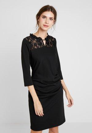 KANOEL INDIA DRESS - Shift dress - black deep
