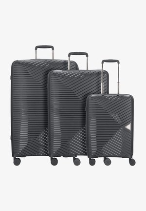 3 PIECES - Luggage set - black