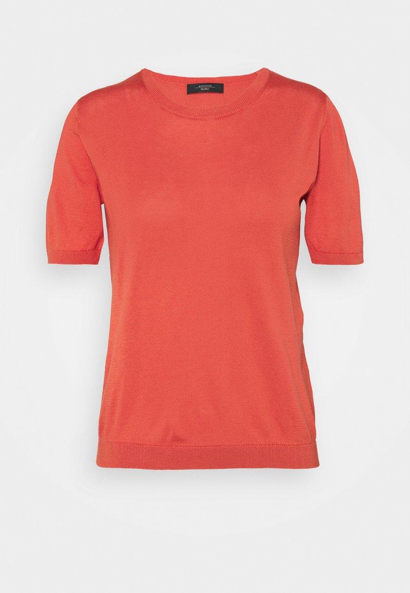 WEEKEND MaxMara - CAIRO - Basic T-shirt - koralle
