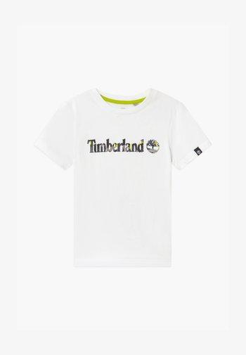 SHORT SLEEVES TEE CAPSULE - Print T-shirt - white