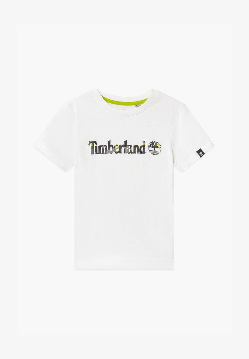 Timberland - SHORT SLEEVES TEE CAPSULE - Print T-shirt - white